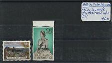 Papua 1963 SG.44-45 Opt. Specimen U/M