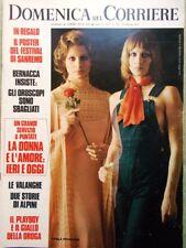 La Domenica del Corriere 29 Febbraio 1972 Donna Mao Fermi Air Force One Chaplin
