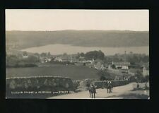 Somerset BLAGDON Village & Reservoir from Street End c1900/20s? RP PPC J Redwood