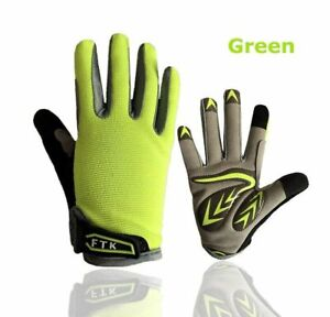 Cycling Gloves Full Finger Kids Boys Girls Youth Touch Screen Road Bicycle Warm