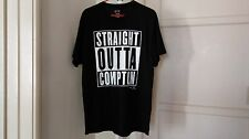 Straight Outta Compton T-Shirt 100% Authentic Un 00004000 Iversal Pictures New Nwa Rap!