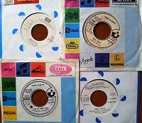 "7"" PINK FLOYD 4 DISCHI 45 GIRI PROMO JUKE BOX ONE OF BRICK FREE JOHN RARISSIMI"