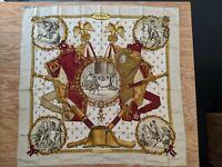 Vintage Hermes Napoleon Silk Scarf by Philippe Ledoux