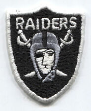 "OAKLAND RAIDERS NFL FOOTBALL 2.25"" SHIELD LOGO PATCH"