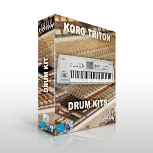 KORG TRITON Drum Kit Samples MPC Maschine Sounds DOWNLOAD Trap Hip Hop WAV