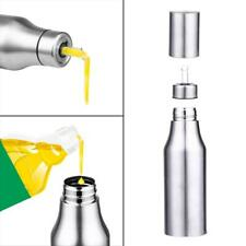 Stainless Steel Vinegar Oil Leakproof Dispenser Bottle Kitchen Cooking Pot