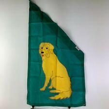 Bisgrove Angled Holiday Seasonal Outdoor Flag 15 Golden Retriever Dog