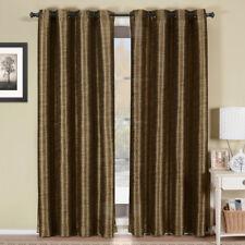Geneva Multi-Layer Grommet Blackout Window Curtain Lined Stripe 1Pc Single Panel