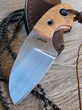 Böker Plus Gnome Olive - Meser - NECKKNIFE - Neck Knive - Fahrtenmesser  02BO238