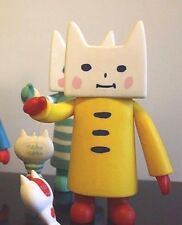 "GALLE COLLE Toy2R Designer Toy  6"" NEKONOKO Cat Carp Figure YELLOW 2006 ED 100"