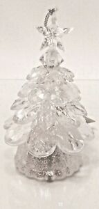 BATH & BODY WORKS CLEAR LIGHT UP CHRISTMAS TREE DECORATION NEW!