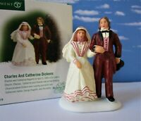 DEPT 56 Dickens Village CHARLES AND CATHERINE DICKENS!   New, Wedding