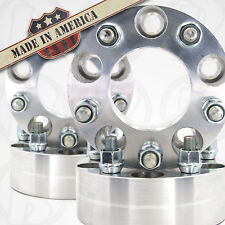 "4 USA Wheel Spacer 2"" Adapters 5x4.50  Ford Mustang, Explorer, Ranger 1/2 Studs"