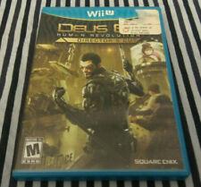 Deus Ex: Human Revolution - Director's Cut - Nintendo Wii U - Tested & Working