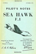 HAWKER SEA HAWK - P.N & GEN. AND TECHNICAL INFORMATION