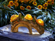 Garden Solar Powered LED Light Turtle Decor Yard Durable Patio Outdoor Portable