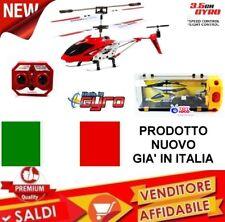 MINI ELICOTTERO RADIOCOMANDATO DRONE UFO 3.5 CANALI GYRO GIOCO RC LED mod 2018