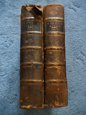 Antique Victorian Haweis Bible & Evangelical Expositor with engravings - 1839