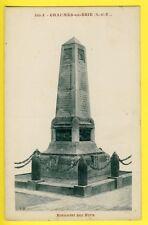 CPA France 77 - CHAUMES en BRIE (Seine et Marne) MONUMENT aux MORTS Guerre 14-18