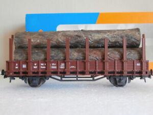 SNCF WAGON PLAT TRANSPORT DE GRUMES ROCO REF 4397A