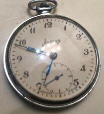1950 Rare Vintage 1st Молния / Molnija USSR SOVIET Pocket Watch