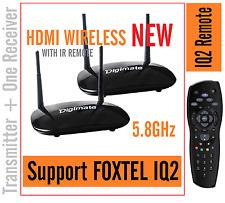 New Digimate X700  5.8GHz HDMI WIRELESS AV Transmitter Receiver + Remote For IQ2