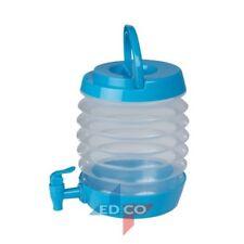 3.3 LITRO BEVANDE pieghevole contenitore acqua plastica da cocktail. Picnic Campeggio