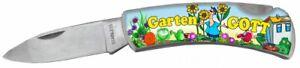 Garten Gott Klappmesser Taschenmesser Messer Klingenlänge ca. 7 cm DM37