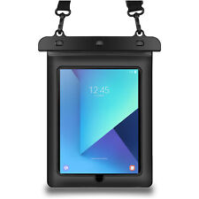 "Black Tablet Waterproof Pouch Dry Bag Case Cover For 10.1"" Samsung Galaxy Tab A"