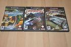 lot 3 jeux Nintendo GAMECUBE Need For Speed Underground 1 et 2 , Carbone VF