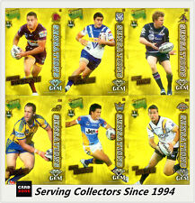 2010 Select NRL Champions Sensation Acetate Gem Card Full Set(32)--RARE