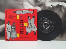 """THE PLATTERS - FAVORITES VOL. 4 EP 7"""" 45 GIRI ITA 60's MERCURY EP 60038"""