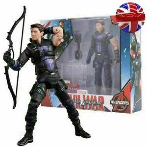 Marvel Avengers Captain America: Civil War - Hawkeye Superhero Action Figure Toy