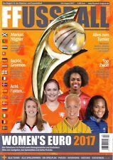 Frauen Fussball Women's Euro 2017 Preview Sonderheft Football England Holland