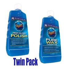 Meguiars High Gloss Polish No.45 & Pure Wax No.56 Twin Pack
