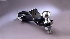 TACOMA TUNDRA SEQUOIA TOW HITCH BALL MOUNT & 2 INCH BALL OEM TOYOTA ACCESSORY