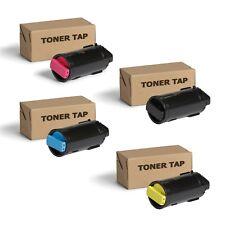 Toner Tap Replacement for Xerox VersaLink C500DN, C500N, C505/S (4 Pack, KCMY)