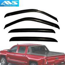 AVS 94355 4pc Window Vent Visor Rain Guards For Avalanche / Suburban / Crew Cab