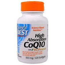 Q10, with Bio Perine, 100 mg, 120 Softgels    FREE SHIPPING USA!!!