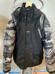 Oakley 3-In-1 Ski Jacket Black (Large) Camo/Blk NWNT