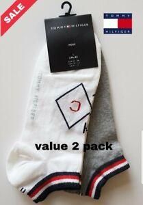 Tommy hilfiger ankle socks 2 PAIRS TOMMY SPORTS SIZE UK 9-11