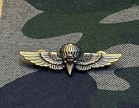 SKULL Marine Marines USMC Jump Wings Hat pin Death From the Above Badge