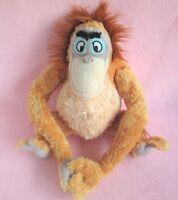 "Disney Store Exclusive 16"" King Louie Jungle Book orangutan soft plush hug toy"