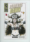"Fearless Dawn ""ART BOOK"" original drawing on Sketch Cover Direct Steve Mannion"