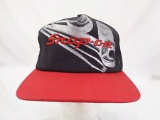 Vintage Snap On Official Product Snapback Hat - Black w/ Red Bill - Rare