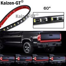 "Red 60"" Tailgate LED Strip Light Bar Truck Reverse Brake Turn Signal Tail Light"