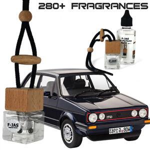 Car Perfume Hanging Mirror Freshener Bottle & Refill for Volkswagen Golf GTI GTD