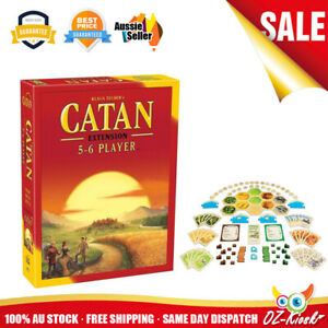OZ Settlers of Catan 5th Edition Trade Build Settle Extension for 5-6 Players AU