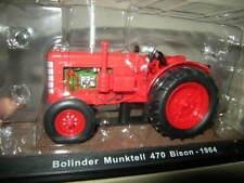 1:32 Ixo Atlas Edition Traktor Bolinder Munktell 470 Bison 1964 VP