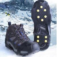 10-Bolzen Universal Ice No Slip Schneeschuh Spikes Grips Steigeisen Ultra  Heiß